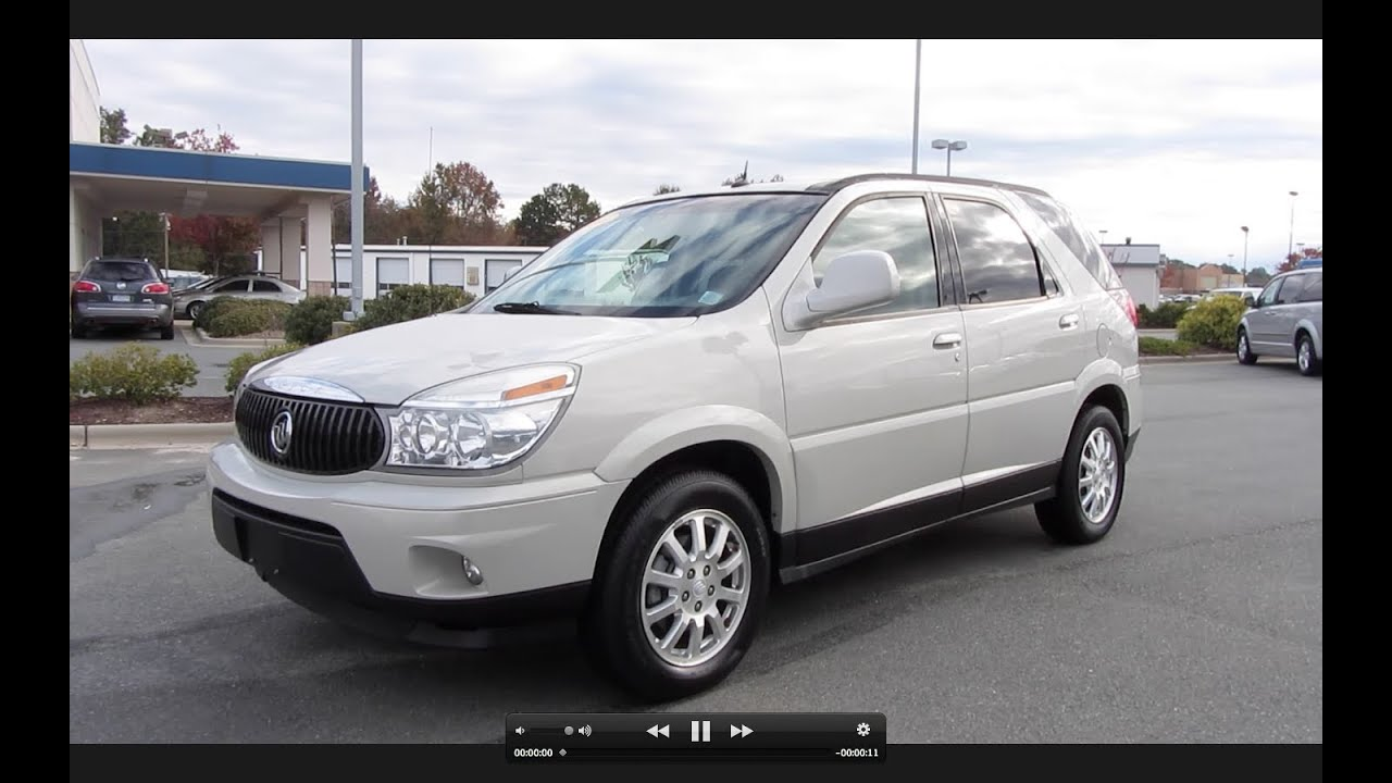 2006 buick rendezvous cxl start up engine and in depth tour youtube