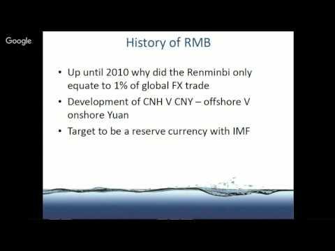 SOSV Webinar Series  The Future of the Renminbi