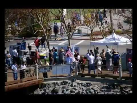 San Diego 9-11 Truth Outreach ~Ten Year Anniv ~ USS Midway