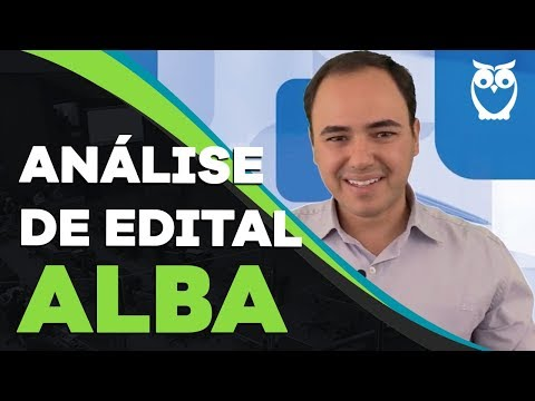 Análise De Edital AL-BA: Assembléia Legislativa Da Bahia