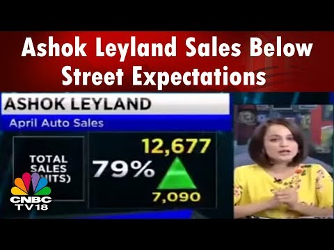 BUSINESS LUNCH   Ashok Leyland Sales Below Street Expectations   CNBC TV18