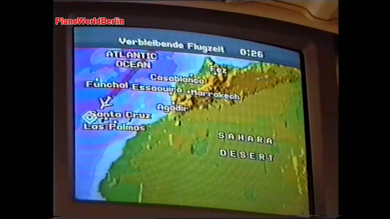 Condor Inflight Entertainment Program 1996