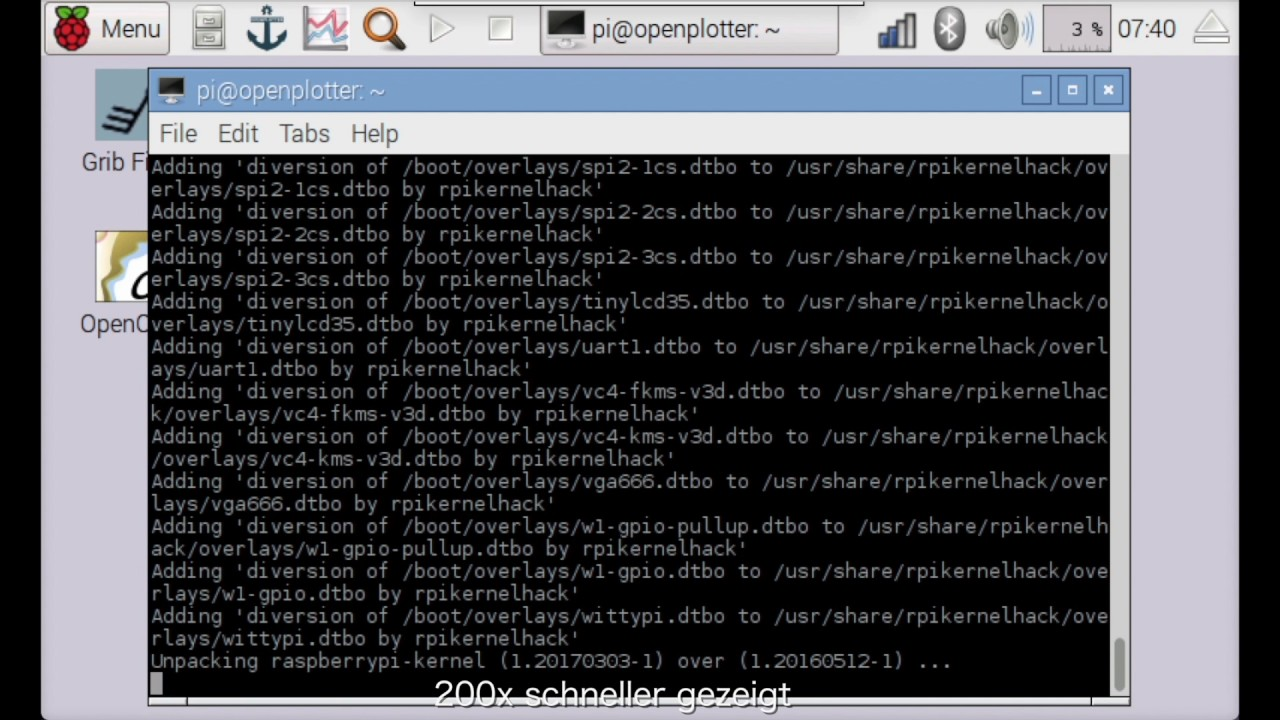 Raspberry pi als Opensource Segel-Plattform (OpenPlotter) - Teil 2:  Upgrades nach Erstinstallation