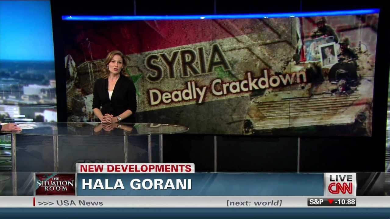 "Hala Gorani on CNN's ""The Situation Room"" on May 13, 2011 ..."