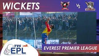 WICKETS | Biratnagar Warriors vs Bhairahawa Gladiators | Match 08 | EPL 2018