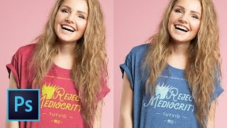 Create a Tshirt Mockup Composite Design in Photoshop CC (Free PSD Download!) | Educational