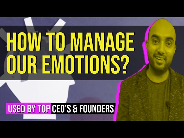 How To Manage & Control Your Emotions | Motivational Video | 100% Efficient Tips