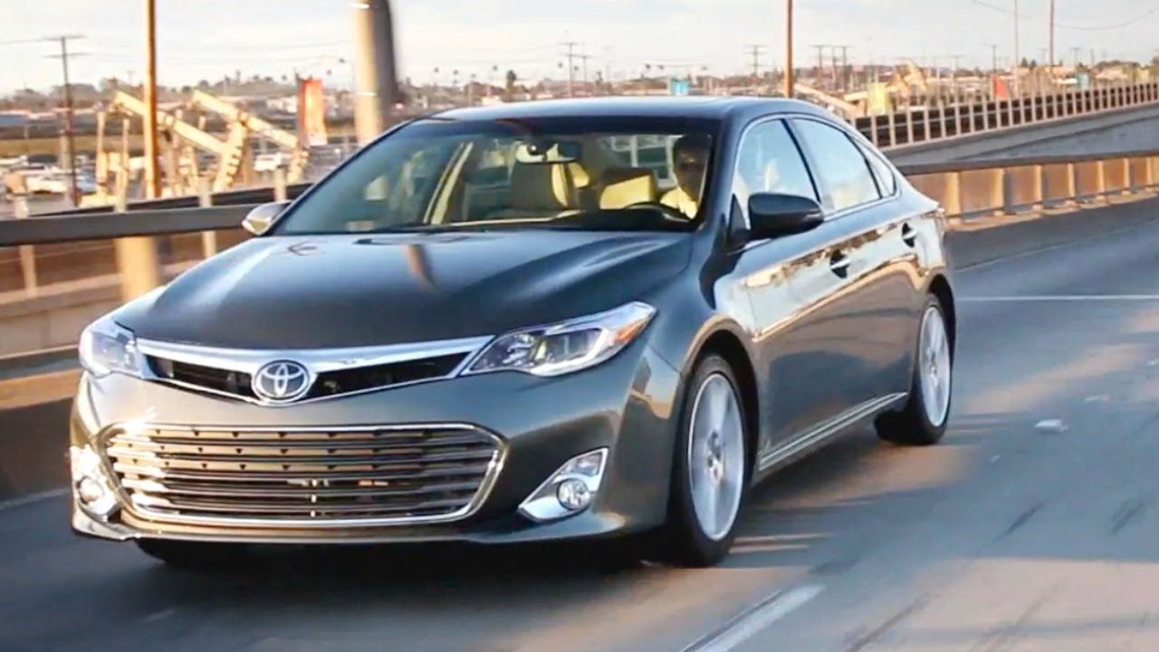 2014 Toyota Avalon - Review and Road Test - YouTube