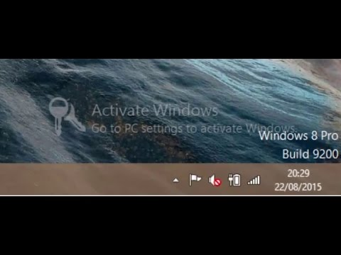 Hide Activate Windows Watermark