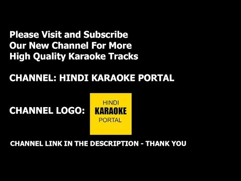 Ajeeb Dastan Hai Yeh Hindi Karaoke With Lyrics