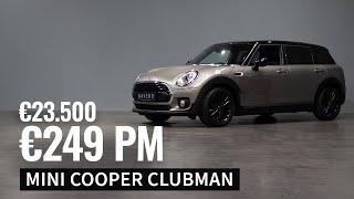 Op voorraad - MINI Cooper Clubman - €249,- PM - 2018 - 37.000 km - €23.500,-