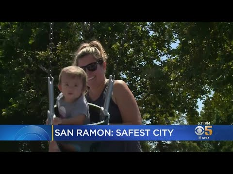 San Ramon Ranked Safest City In California
