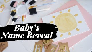 Baby Girls Name Reveal | Unique Baby Name | Baby #3