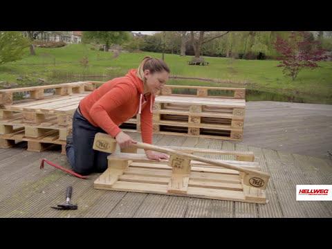Palettensofa bauen
