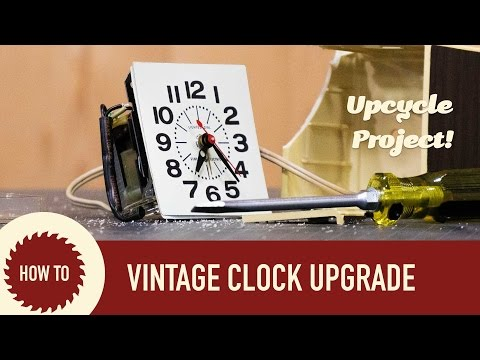 Hot Rodding and Modding an Antique Clock. Upcycle Project.