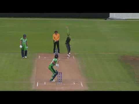 Cricket World TV  Pakistan v Ireland Highlights  ICC u19 World Cup 2018