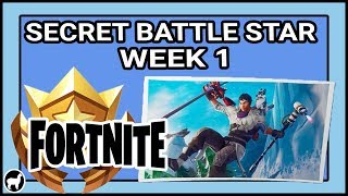Fortnite Season 7 Week 1 Secret Battle Star Location | Fortnite Battle Royale