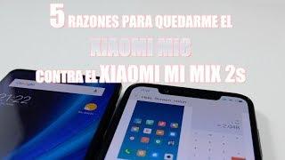 Xiaomi Mi 8 VS Xiaomi MI MIX 2S 5 RAZONES por las que me QUEDO Mi 8