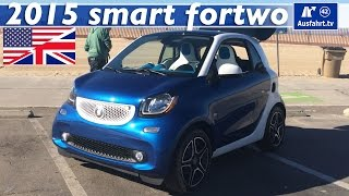 2015 smart fortwo (453) - Test, Test Drive and In-Depth Review (English)