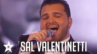 Sal Valentinetti Auditions & Performances Americas Got Talent 2016 Finalist