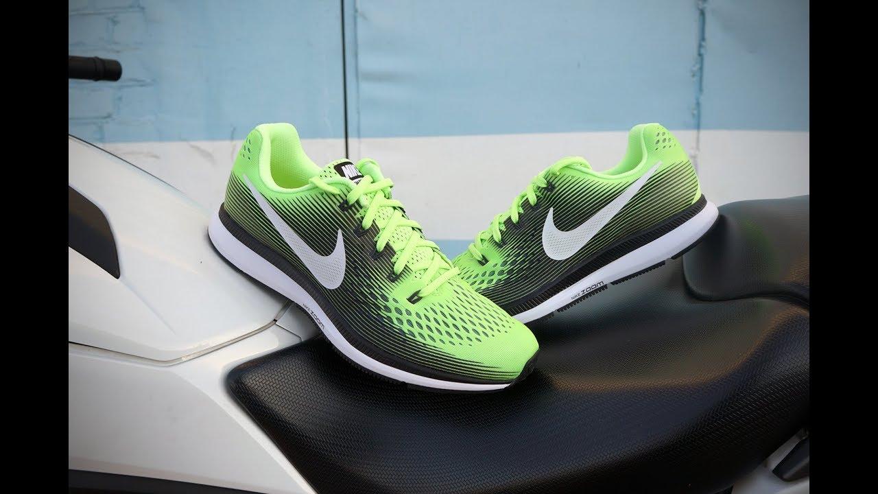 Nike Air Zoom Pegasus 34 Ghost Green/Black/Cool Grey/White