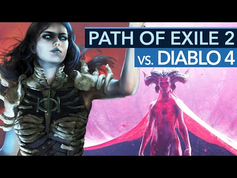 Muss DIABLO 4 bald Angst vor Path of Exile 2 haben?