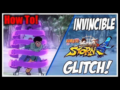 Naruto Shippuden: Ultimate Ninja Storm 4 - New Invincibility Glitch! (How To Do It)!