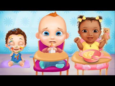 Игра как мультик для девочек - Беби Босс Детский сад: ухаживаем за малышами, кормим и играем