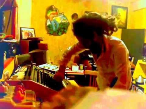 Puraman Live Dub Mixing in his Lost Ark Studio