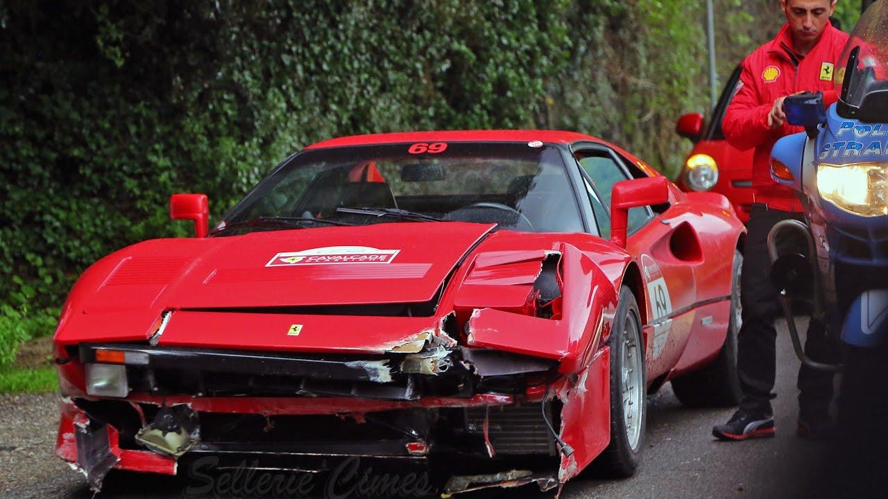 Ferrari 288 Gto For Sale >> Ferrari 288 GTO Crashed - Cavalcade Classic - YouTube