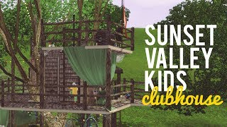 The Sims 3 Speed Build— Sunset Valley Tree Clubhouse — 10x10 Challenge