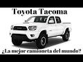 Toyota TACOMA...¿La mejor? Prueba.