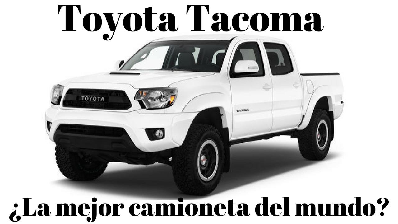 Toyota TACOMA...¿La mejor? Prueba. - YouTube