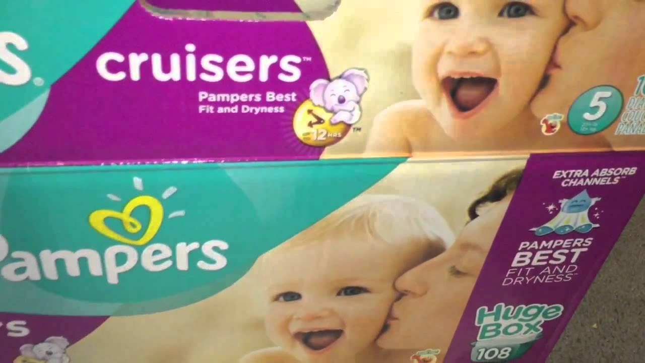 Test pampers