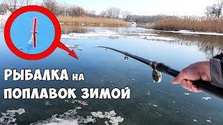 видео Ловля карася на поплавочную удочку зимой. Как ловить?