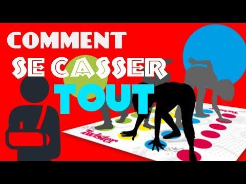 COMMENT SE CASSER TOUTES LES PARTIES DU CORP?
