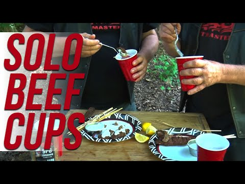 Beef Salad Cups by the BBQ Pit Boys
