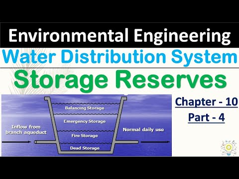Storage Reserves | Water Distribution System in Hindi | Part - 04 | Environment Engineering