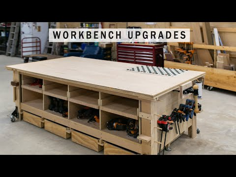 Four Easy Workbench Improvements - Upgrading the Ultimate Workbench