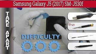 How to disassemble 📱 Samsung Galaxy J5 (2017) SM-J530 Take apart Tutorial