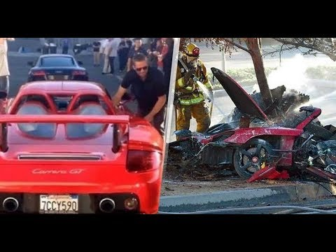 Sale A La Luz Vídeo De Paul Walker Minutos Antes De Morir