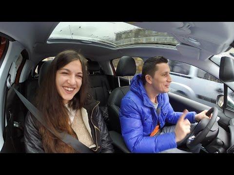 ZUBER pentru ZUper fete - Simina Andreea si Flick in Peugeot 208