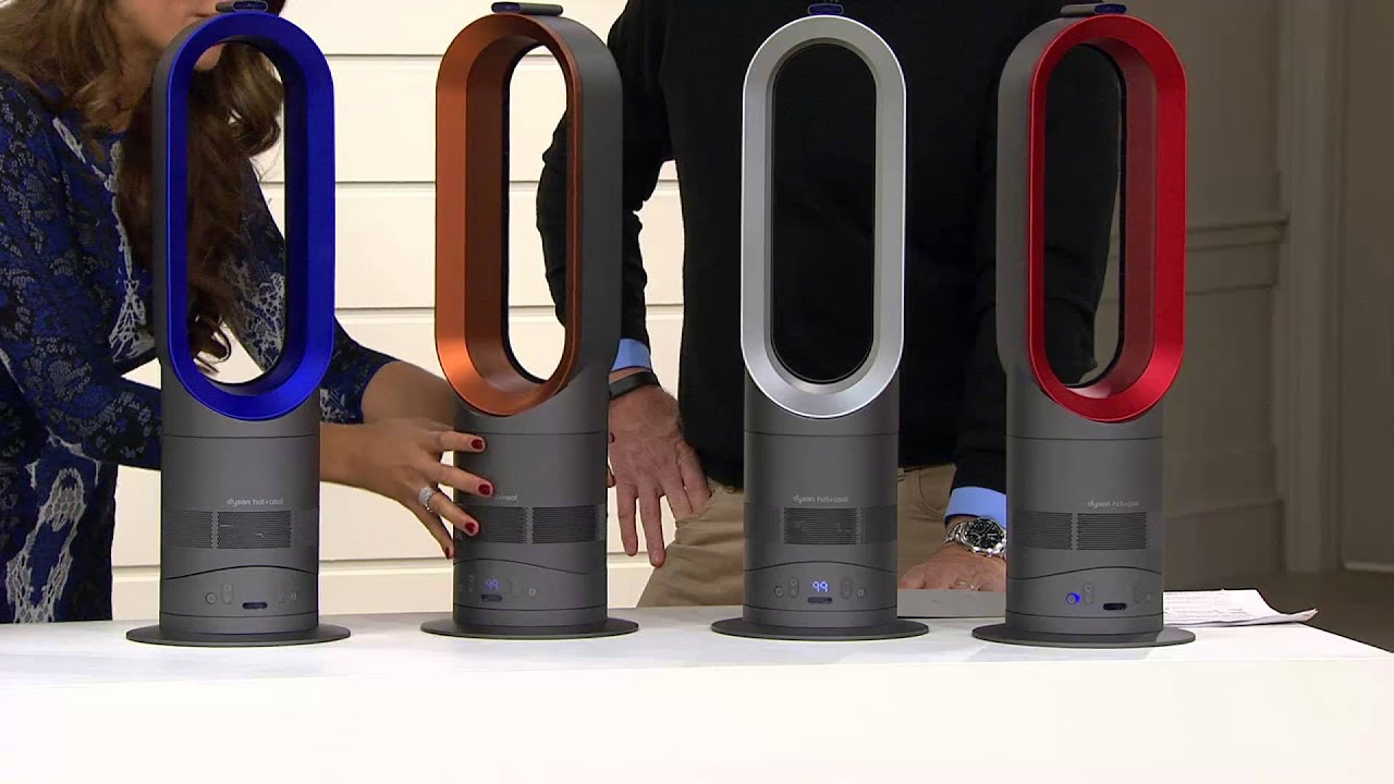 dyson am05 hot u0026 cool bladeless air multiplier heater u0026 fan with mary beth roe youtube