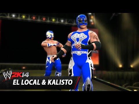 WWE 2K14 Community Showcase: El Local & Kalisto (PlayStation 3)