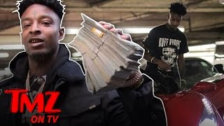 21 Savage: Stacks Of Chains and Cash | TMZ TV