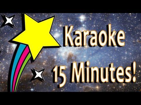 Twinkle Twinkle Little Star - KARAOKE version (for 15 minutes)