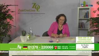 Gambar cover Kartenlegen mit DagMa Live bei ZenOmLive TV