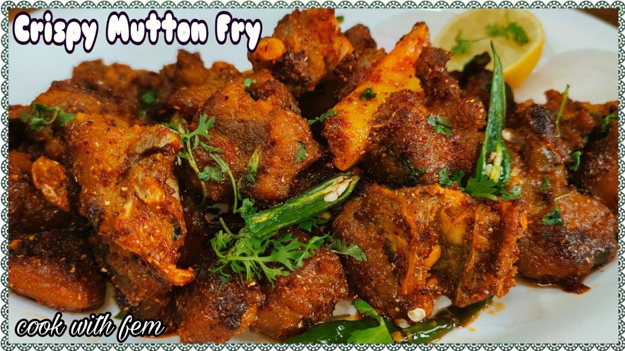 Crispy Mutton Fry Ek Baar Iss Tarah Try Karke Dekhiye Aisa Mazeka Banega Aap Isey khatey hi jayengey