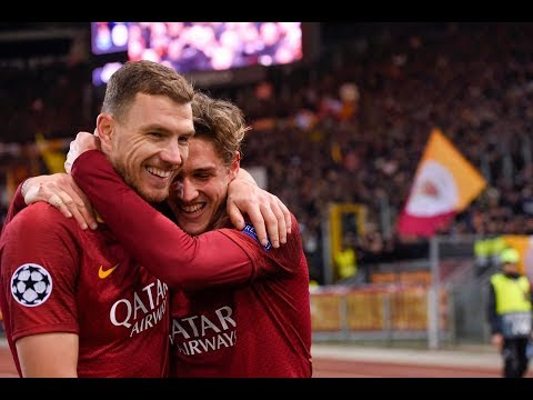 Roma 2-1 Porto - Highlights UCL commento Caressa, Roma TV e Radio Rai