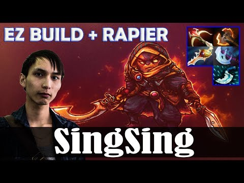 SingSing - Ember Spirit MID | EZ BUILD + RAPIER | Dota 2 Pro MMR  Gameplay